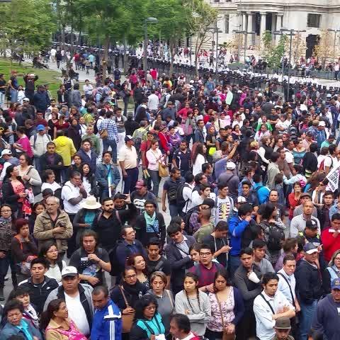 Vine by Coordinadora1DMX - EPN presumiendo Derechos Humanos en extranjero y en CDMX le ordena a Mancera bloquear derecho a manifestación