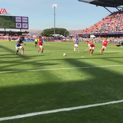 Vine by MLS - .@didierdrogba scoring against @Arsenal? You dont say. #MLSAllStar