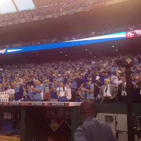Kansas City Royalss post on Vine - #Royals fans are ready! #TakeTheCrown - Kansas City Royalss post on Vine