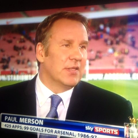 Wills post on Vine - Paul Merson cant get his words out! - Wills post on Vine