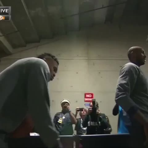 Vine by Bleacher Report - Game 5 ready (via NBA on TNT)