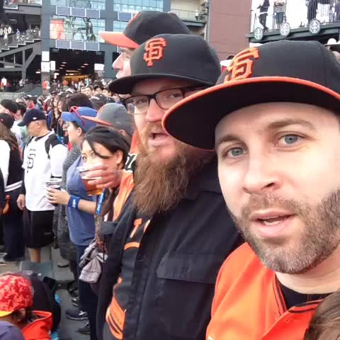 And its root root root for the #SFGiants. #BeatLA @edcasey - Dan Jacksons post on Vine
