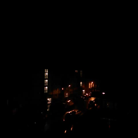 Vine by This is Edinburgh - Amazing lighting over towards Easter Road in #Edinburgh last night! #thisisedinburgh
