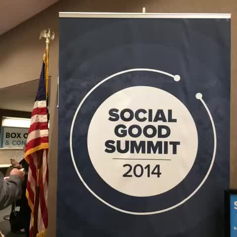 Were gearing up for Social Good Summit 2014 in #NYC! If youre not here at the event, join us online at Mashable.com/SGS. #2030NOW - Mashable Eventss post on Vine