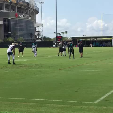 Vine by Mike Kaye - Allen Robinson wins round 2 in the Redzone against Ramsey. First real one-sided matchup against the rookie so far in camp. #jaguars