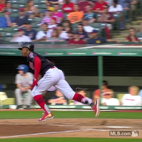 Vine by MLB - The bat followed him ...