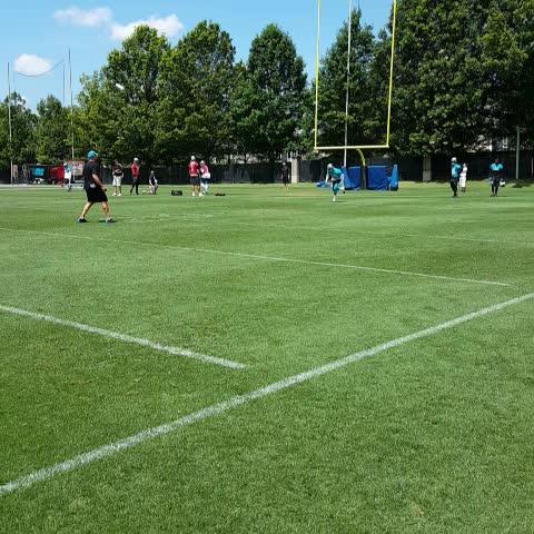 Vine by Carolina Panthers - Cam to Ginn. #OTAs