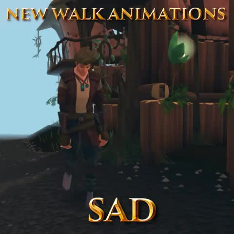 runescape walk animations