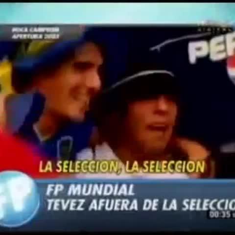 Vine by Xeneize Del Alma - 🎶 La sSlección, la Selección, se va a la put*, que lo parió...🎶