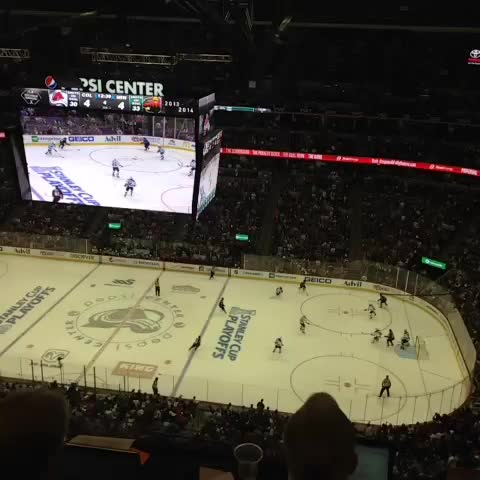 Colorado Avalanches post on Vine - AND THE AVS WIN!!!! - Colorado Avalanches post on Vine