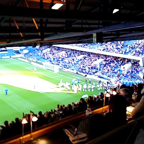 #itfc and #HTAFC emerge from the tunnel ahead of kick-off here at Portman Road. - Tom Marshall-Baileys post on Vine