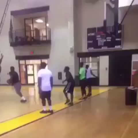 Vine by House of Highlights (Official) - NBA 2K My Park.. In a gym 😂 (via upnext5_Twitter)