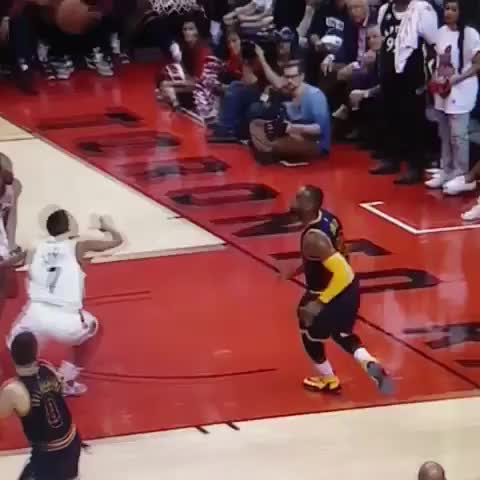 Vine by LegionNBA - Still cant believe this was a foul...what a block by Biyombo.