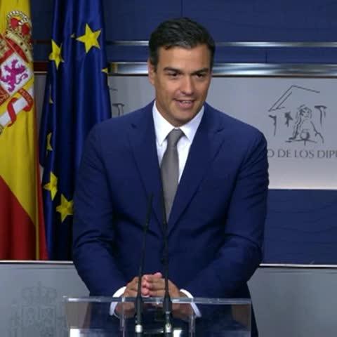 """Vine by A3Noticias - Sánchez: """"La responsabilidad de que el señor Rajoy pierda la investidura es del señor Rajoy"""" #A3Noticias"""