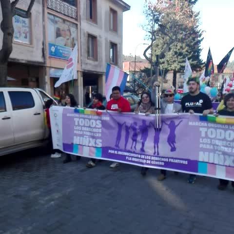 Vine by soyconcepción.cl - Comienza la marcha de Orgullo Gay en #Concepción.  Mas de 500 personas participan soyconcepción.cl