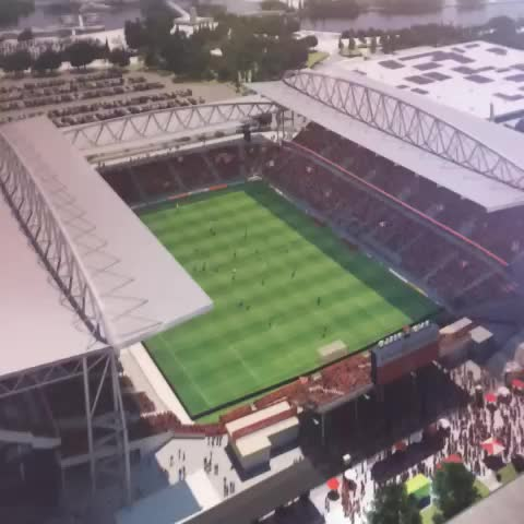 Toronto FCs post on Vine - A quick look at the new @BMOField! #TFClive - Toronto FCs post on Vine