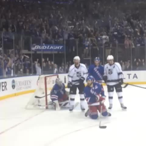 Henrik celebrates his first win in the Stanley Cup! #NYRCupFinal