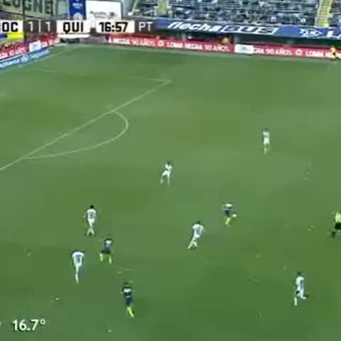 Vine by Boca Juniors - ¡Así fue el golazo de Benedetto! Ahora, #Boca 2 - Quilmes 1.