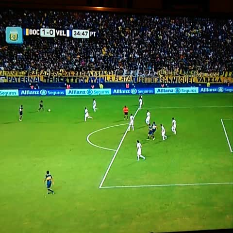 Vine by Boca Juniors - ¡GOOOOOOL DE #BOCA! #Colazo