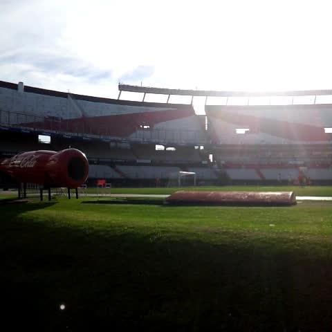 Entrenamiento tras la victoria de #River ante Belgrano de Córdoba. - River Plate Oficials post on Vine