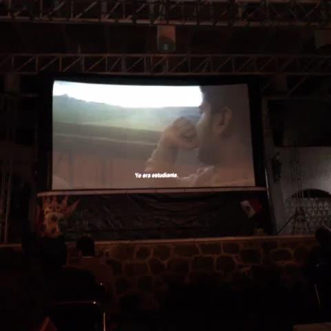 Vine by La Varonita - Desde @casadellagouv en presentación de @Micgenerover muestra cine #genero #feminismo #Xalapa