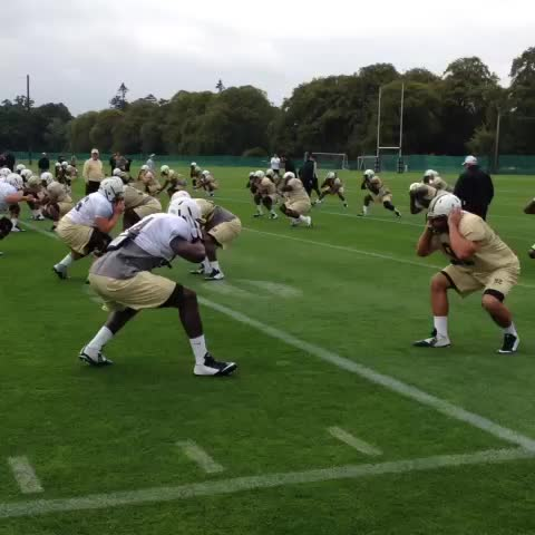UCF Footballs post on Vine - The Knights arent wasting any time as practice is well underway from Carton House #IrishKnights - UCF Footballs post on Vine