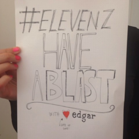Damjan Obals post on Vine - #elevenz @elevenbg have a blast at the demo day today!!!!! Hugs from @edgartells - Damjan Obals post on Vine
