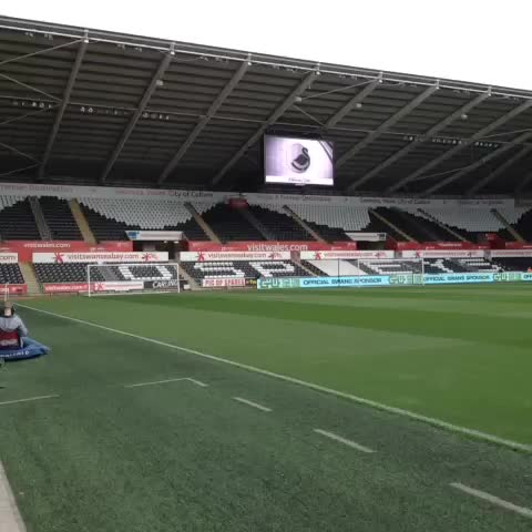 Swansea City FCs post on Vine - VINE: A look around the Liberty, including our new jumbo screens, ahead of kick-off. - Swansea City FCs post on Vine