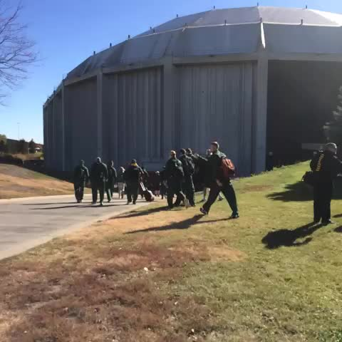 NDSU Athleticss post on Vine - The Herd has arrived at the Dakota Dome. Kickoff vs. USD at 2pm. TV on ND NBC and Midco. #BisonPride - NDSU Athleticss post on Vine