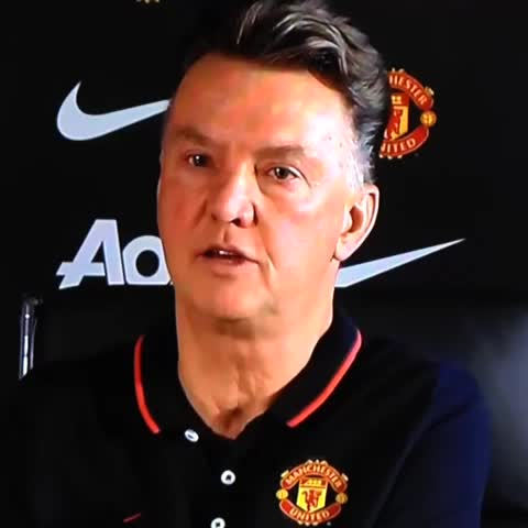 Louis van Gaal can buy a player in 24 hours, so we can relax. #mufc - Man Utd Universes post on Vine