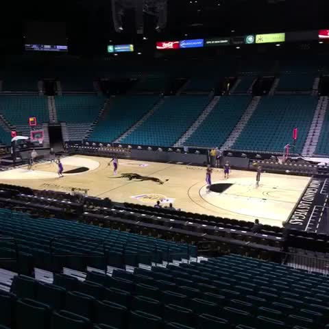 Lakerss post on Vine - Shootaround at the MGM. - Lakerss post on Vine