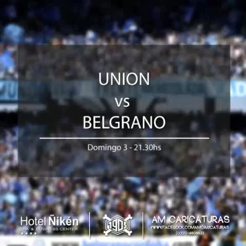Vine by #LBDTW - #Los11Piratas #Belgrano vs. #Union #LBDTW