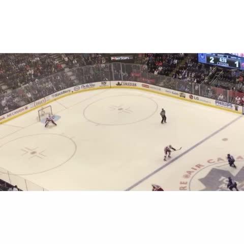 Hollands unassisted goal! 3-1 Leafs! #tmltalk - Toronto Maple Leafss post on Vine
