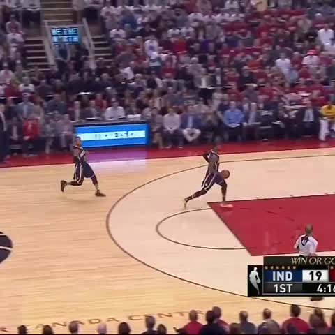 Vine by NBA on TNT - Paul George dunk