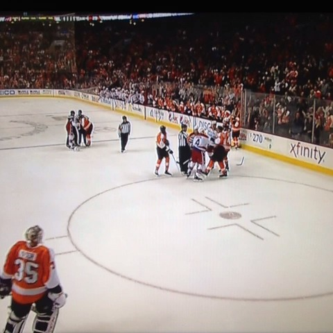 FakeCGirouxs post on Vine - Erskine vs Flyers - FakeCGirouxs post on Vine