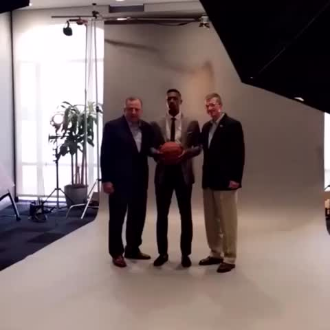 Vine by MN Timberwolves - Thibs FTW 😂