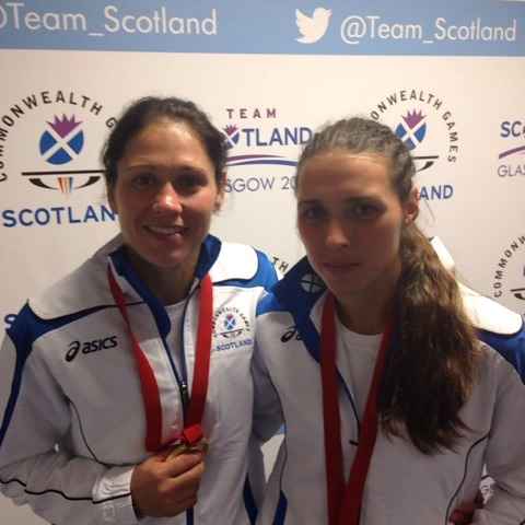 Renicks sisters! #GoScotland - Team Scotlands post on Vine