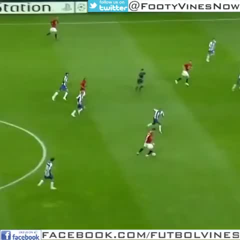 Stunning Football Goalss post on Vine - Cristiano Ronaldo Amazing goal vs Porto from 40 Yards out - The stunning strike  was voted Manchester Uniteds goal of the decade - @FootyVinesNows post on Vine