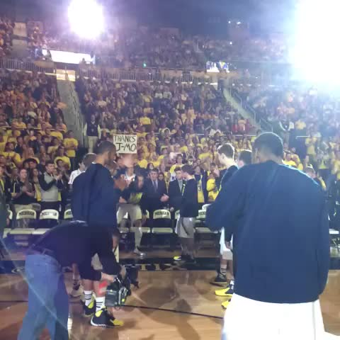 For the final time. #ThanksJMo - Michigan Basketballs post on Vine