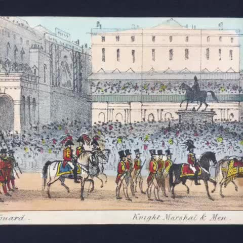 Vine by IU Lilly Library - #OTD in 1838, over 400,000 visitors came to London to see the 18-year-old Victoria crowned queen.
