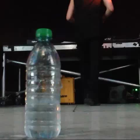 OfficialSCMFs post on Vine - Bass was hitting hard at the #BeatportStage this year with #Dubfire even the water bottle was dancing - OfficialSCMFs post on Vine