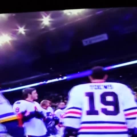 Cannon fire spooks Gaudreau at the ASG skills comp. XD - Vine by Bree Mellen - Cannon fire spooks Gaudreau at the ASG skills comp. XD