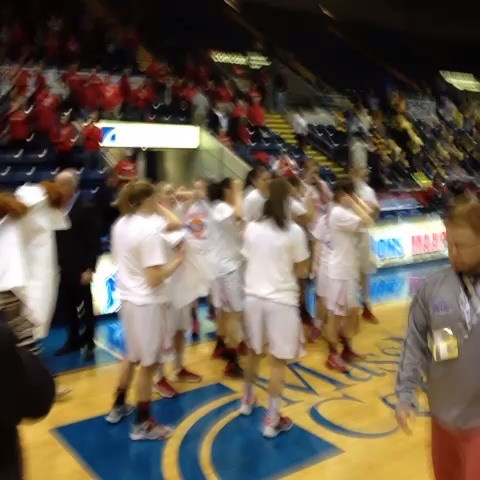 The #MAAC14 champion @Marist #RedFoxes are pretty happy, wouldnt you say?! - Sean McManns post on Vine