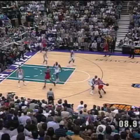 Vine by The NBA on ESPN - MJs series-winning jumper against the Jazz in the 98 Finals is No. 4 in our #NBArank Best Playoff Vines.