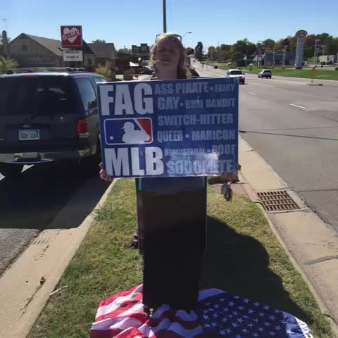 Some of us might be fans of Kansas City Royals, but ALL of us are fans of serving God and loving our neighbors. #ThreeCheers #worldseries - Westboro Baptist Churchs post on Vine