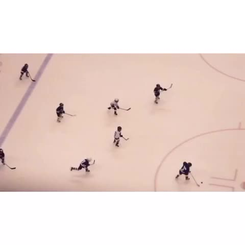 Timbit hockey action during 1st intermission! #tmltalk - Toronto Maple Leafss post on Vine