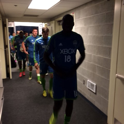 Your #Sounders are here! - Seattle Sounders FCs post on Vine
