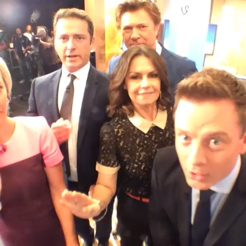 theTODAYshows post on Vine - BOOM! #TVWeekLogies Fashion Turn @karlstefanovic @lisa_wilkinson @TVWeekMag #Today9 - theTODAYshows post on Vine
