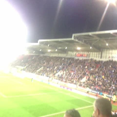 Birmingham City FCs post on Vine - VINE: Gary Rowetts blue and white army! #BCFCawaydays - Birmingham City FCs post on Vine