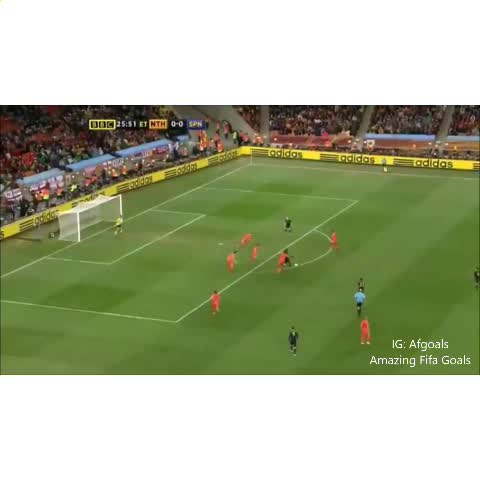 Vine by Amazing Fifa Goals - Probably the best goal in Iniestas career ????